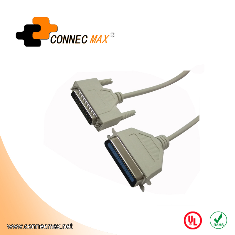 USB to DB2536 cable, USB printer cable, USB to IEEE1284 cable
